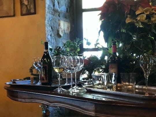 Visita a los viñedos de la campiña romana y degustación de vinos.