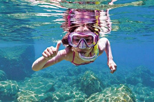 Bootsfahrt mit Unterwassersicht