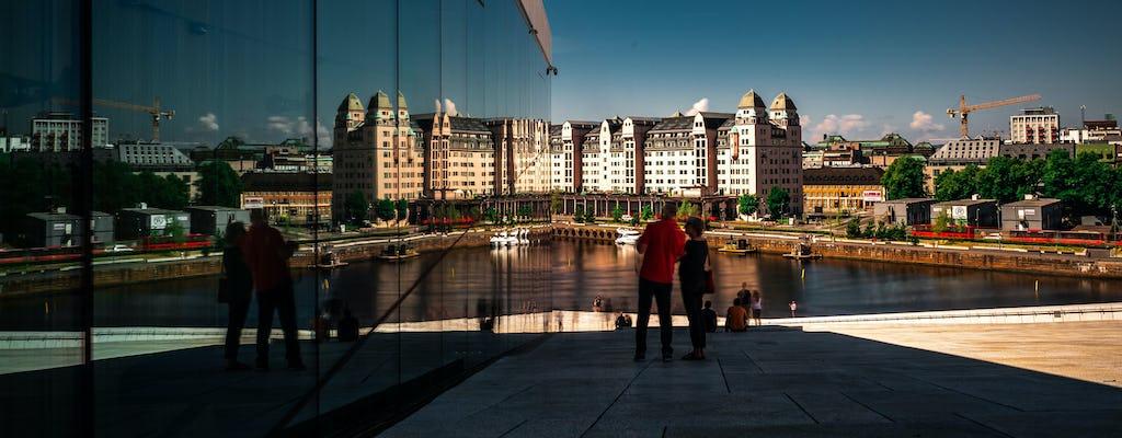 Ammira la straordinaria architettura di Oslo in un tour a piedi privato