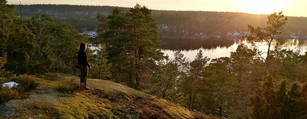 Desfrute de uma aventura de caminhada de verão em Estocolmo