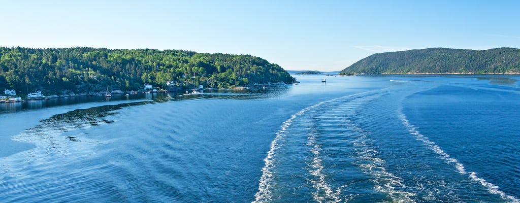 Sights and delights cruise through Oslo Fjord