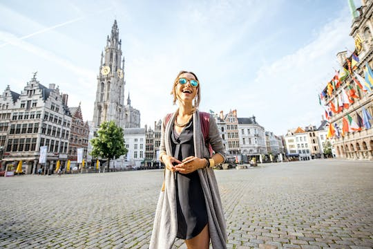 Historic Antwerp private walking tour
