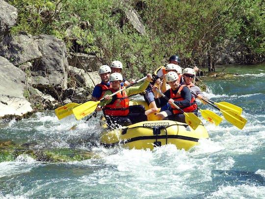 Rafting auf dem Fluss Cetina