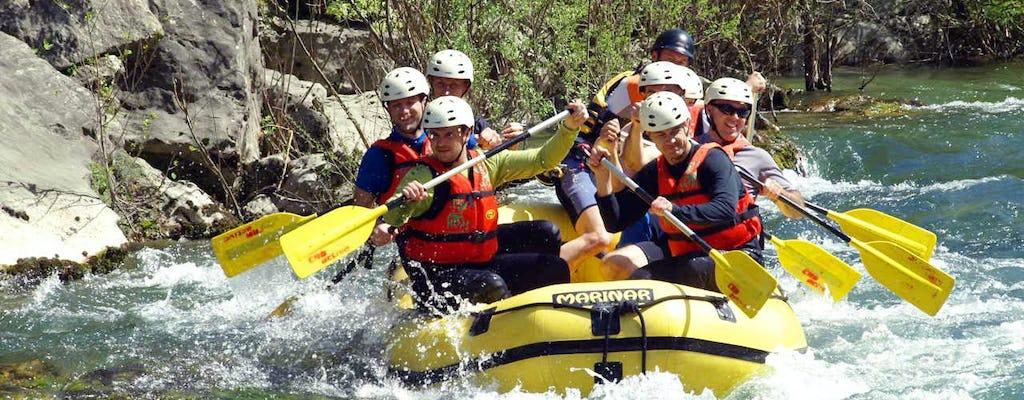 Rafting na rzece Cetina
