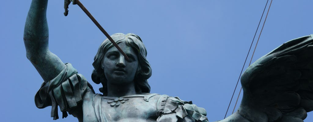 Visita rápida a la terraza del Castel Sant'Angelo con acceso rápido