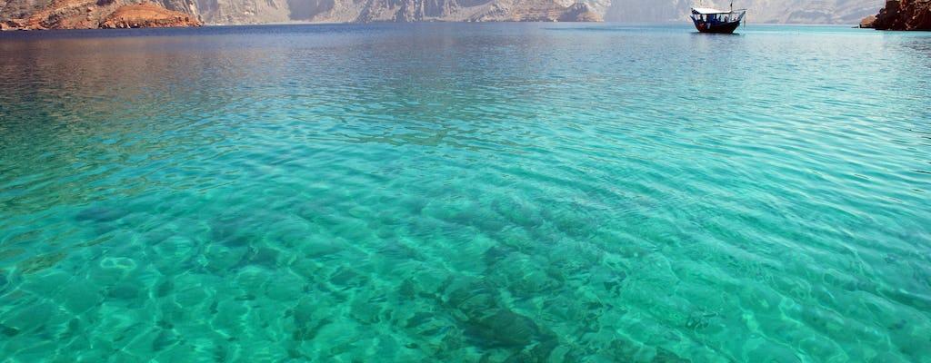 Плавание с маской и круиз в Омане