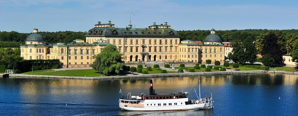 Tour in barca del palazzo di Drottningholm