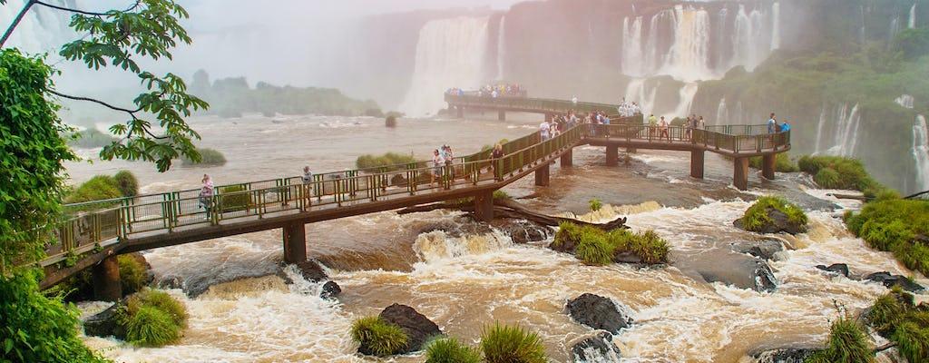 Iguassu Falls dagtour Braziliaanse en Argentijnse kanten