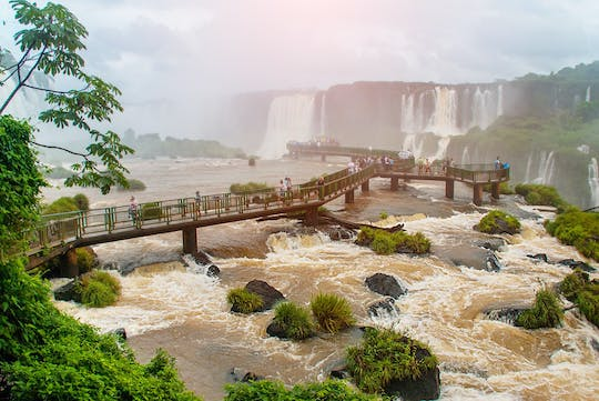Iguassu Falls full-day tour Brazilian and Argentinian sides