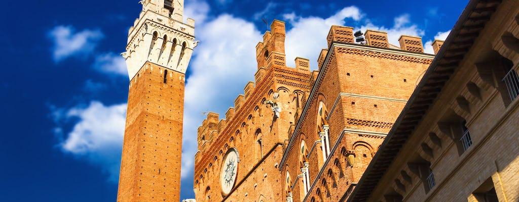 Siena privérondleiding van een halve dag