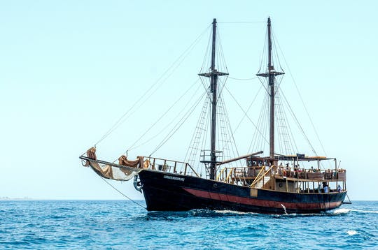 Jolly Roger Piraten-Bootstour