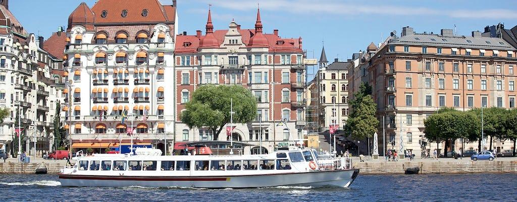 Fjäderholmarna boat tour
