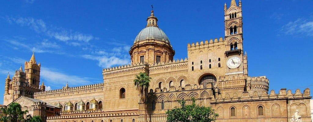Palermo und Cefalù geführte Tour von Taormina