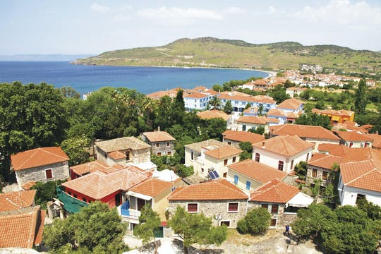 Het Zuiden van Lesbos