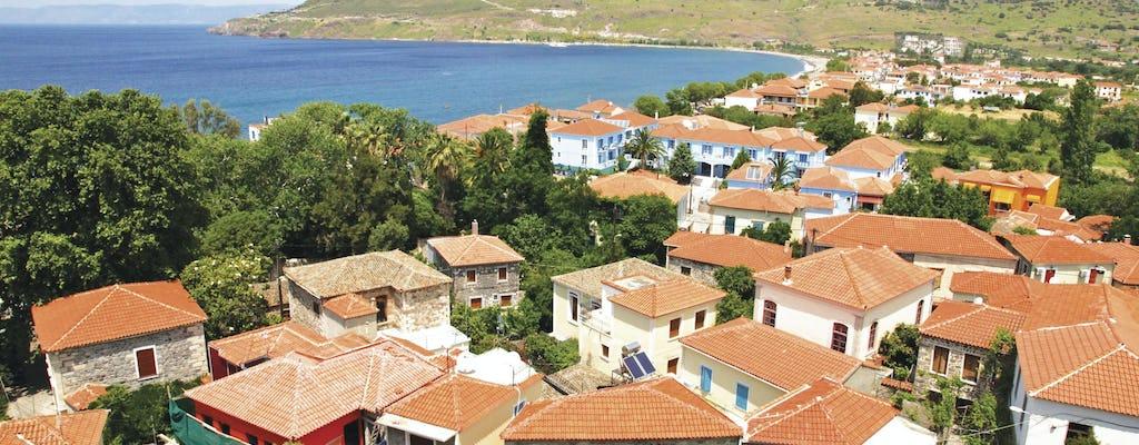 Le sud de Lesbos
