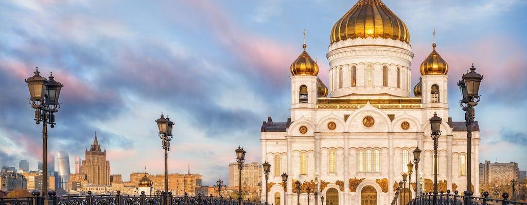 Zwiedzanie Galerii Trietiakowskiej, Chrystusa Zbawiciela i Starego Arbatu
