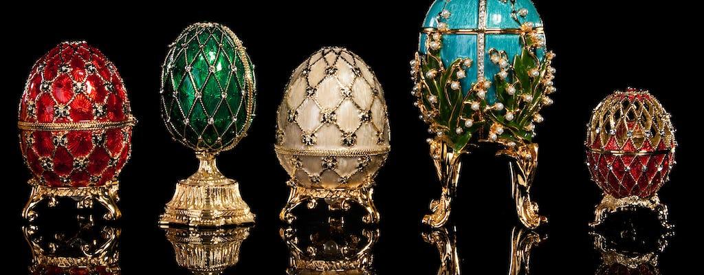 Visita privada al museo Faberge con opción de crucero de 1 hora
