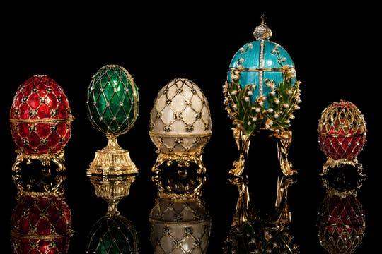 Private Faberge museum tour with 1-hour cruise option