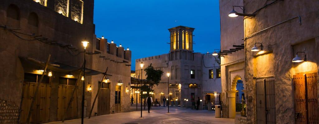 Tour a piedi nella zona storica di Al Fahidi e giro in Abra