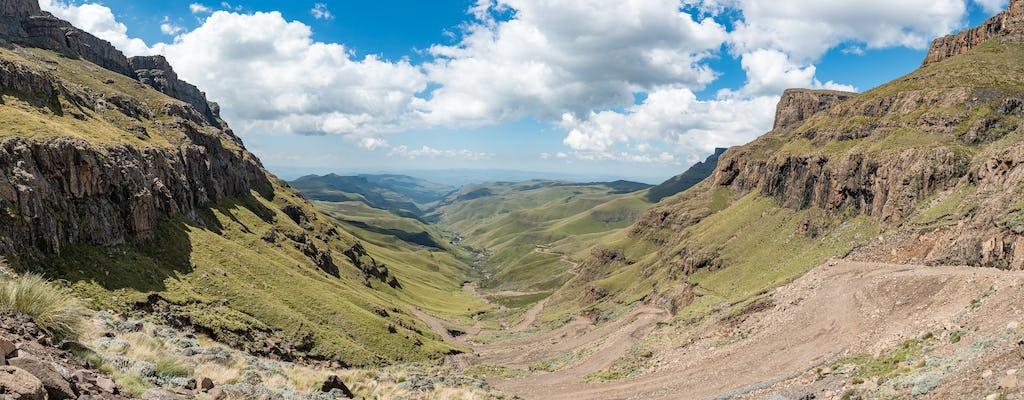 Vanuit Durban: Sani Pass en Lesotho-tour van een hele dag