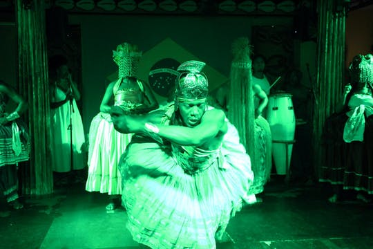Bahia night tour with dinner and show