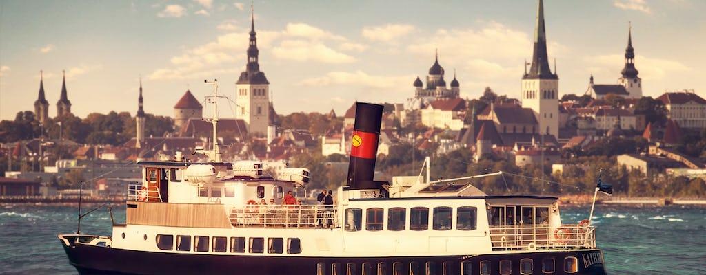 Crucero con cena al atardecer en Tallin