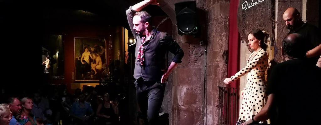 Barcelona city tour with tapas and flamenco show