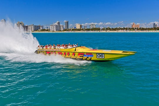 Tour in motoscafo Thriller Miami
