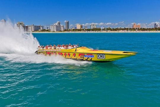 Thriller Miami speedboat tour