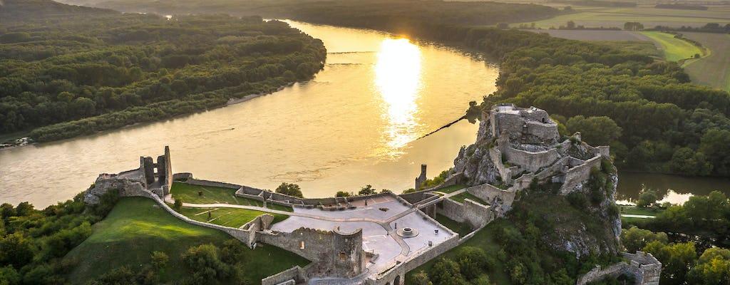Excursão ao castelo Devin saindo de Bratislava