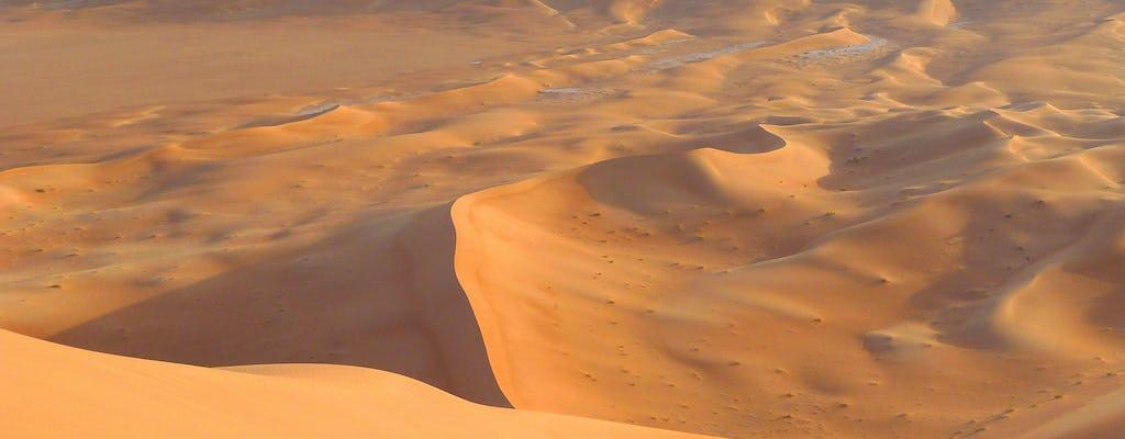 Desierto de Wahiba durante la noche