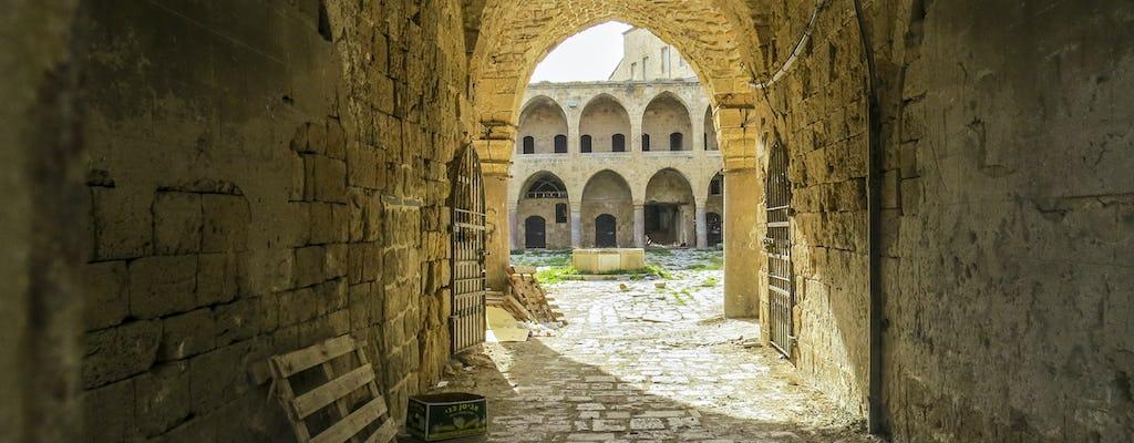 Tour de día completo en Cesarea, Haifa y Acre desde Tel Aviv