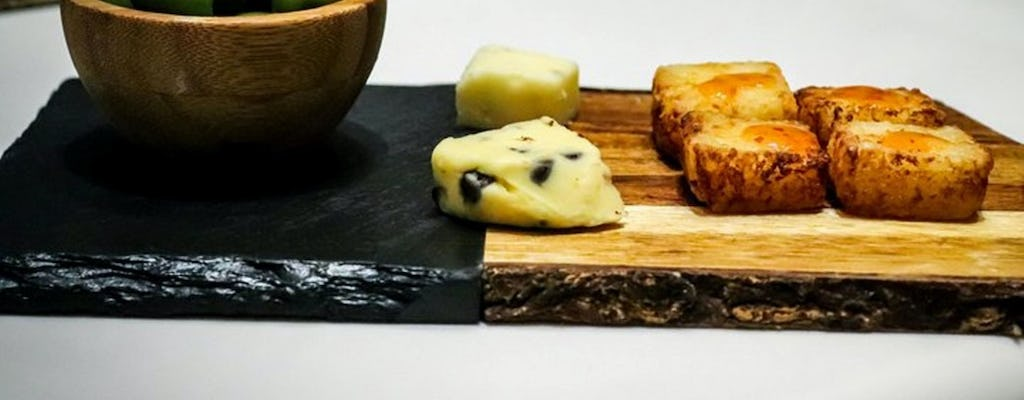 Spanish cheese tasting tour in Madrid