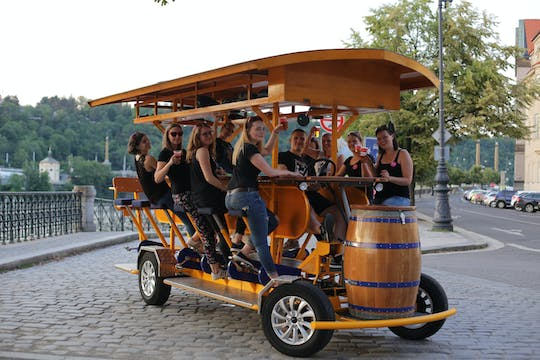 Beer Bike tour de Praga