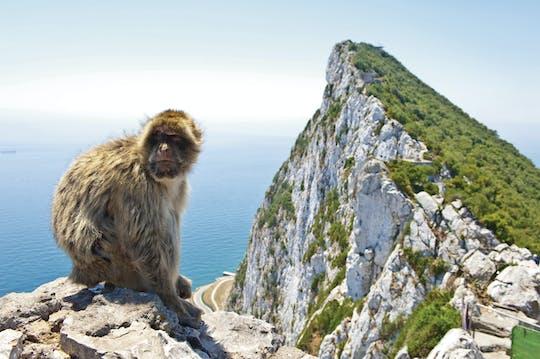 Gibraltar Felsen und Vejer de la Frontera