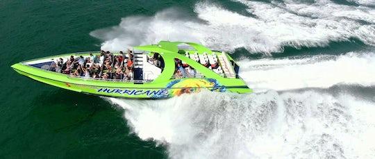 Hurricane Miami speedboat tour