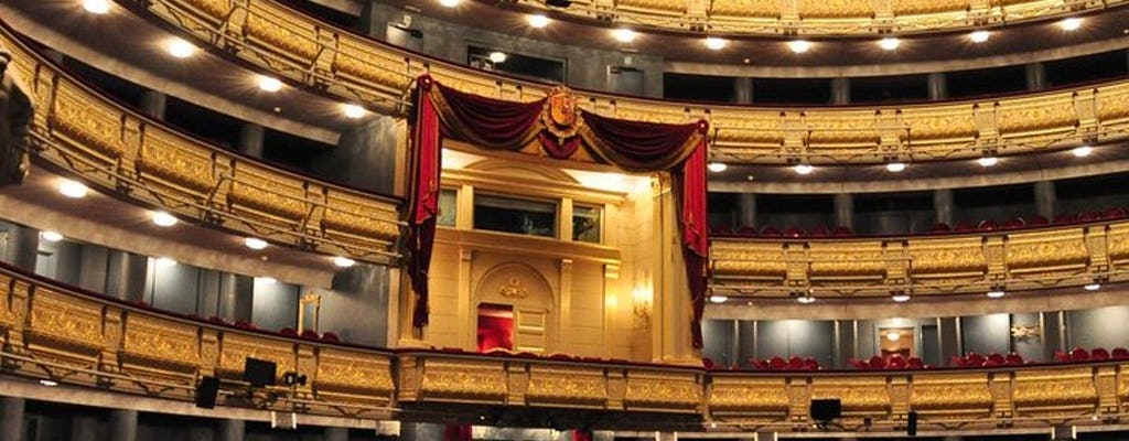 Madrid opera night with Michelin star chef dinner tickets