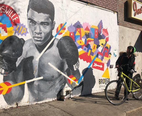 NYC Street Art bike tour