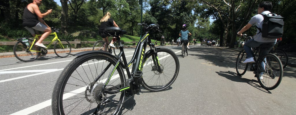 Geen Sweat Central Park E-bike tour
