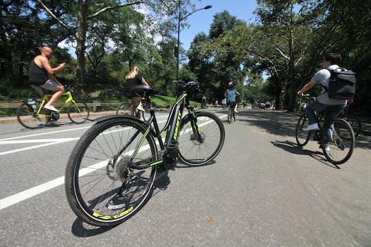 No Sweat Central Park E-bike tour