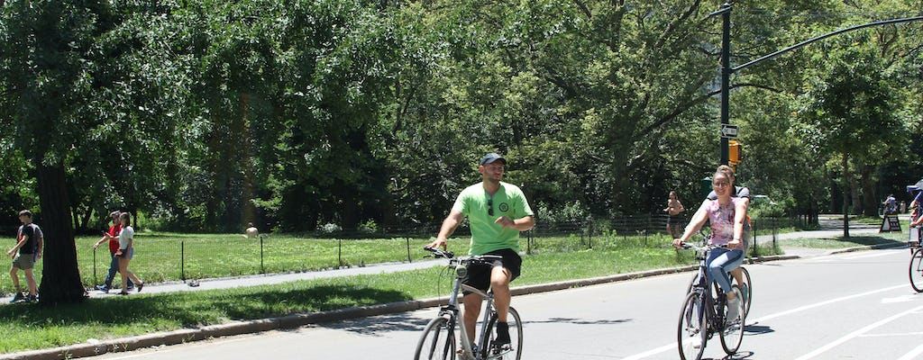 2-hour bike tour in Central Park