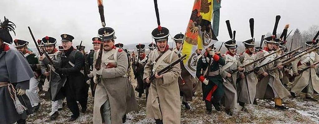 Excursão de 1812 a Berezina, Brylevsky Field e Studenka saindo de Minsk