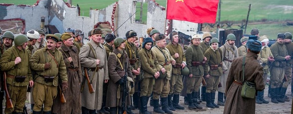 Guided tour of the Stalin Line complex from Minsk