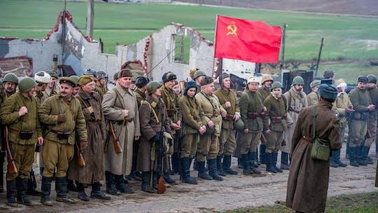 Visita guiada ao complexo da Linha Stalin de Minsk