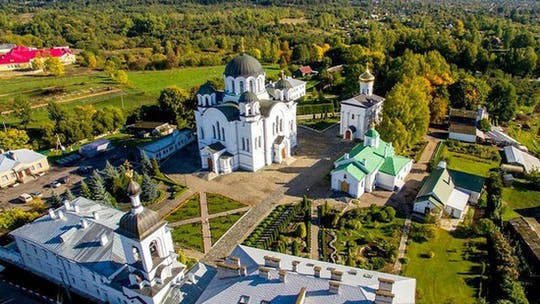 Private tour to Polotsk and the Khatyn memorial complex from Minsk