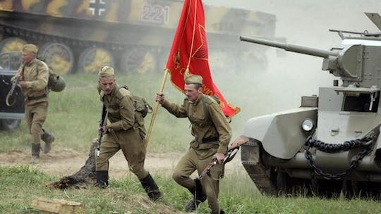 Private tour to Stalin line and Khatyn memorial complex from Minsk