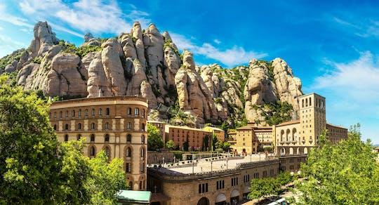 Gita giornaliera privata a Montserrat con pranzo