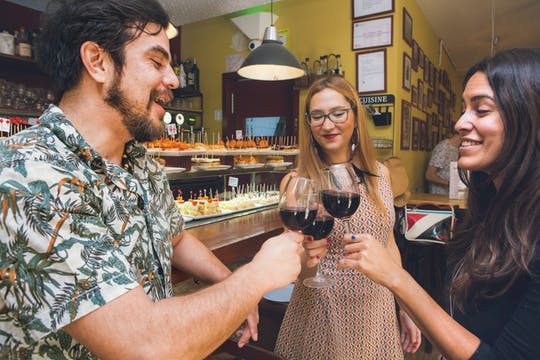 Tapas and wine private tour in Barcelona