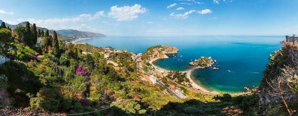 Taormina bay boat tour