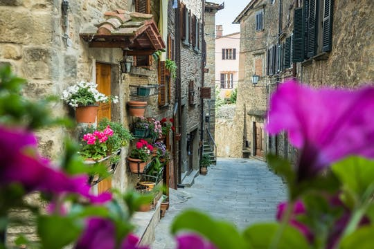 Tour privado a pie por Cortona